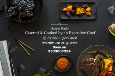 Home Party with executive chef