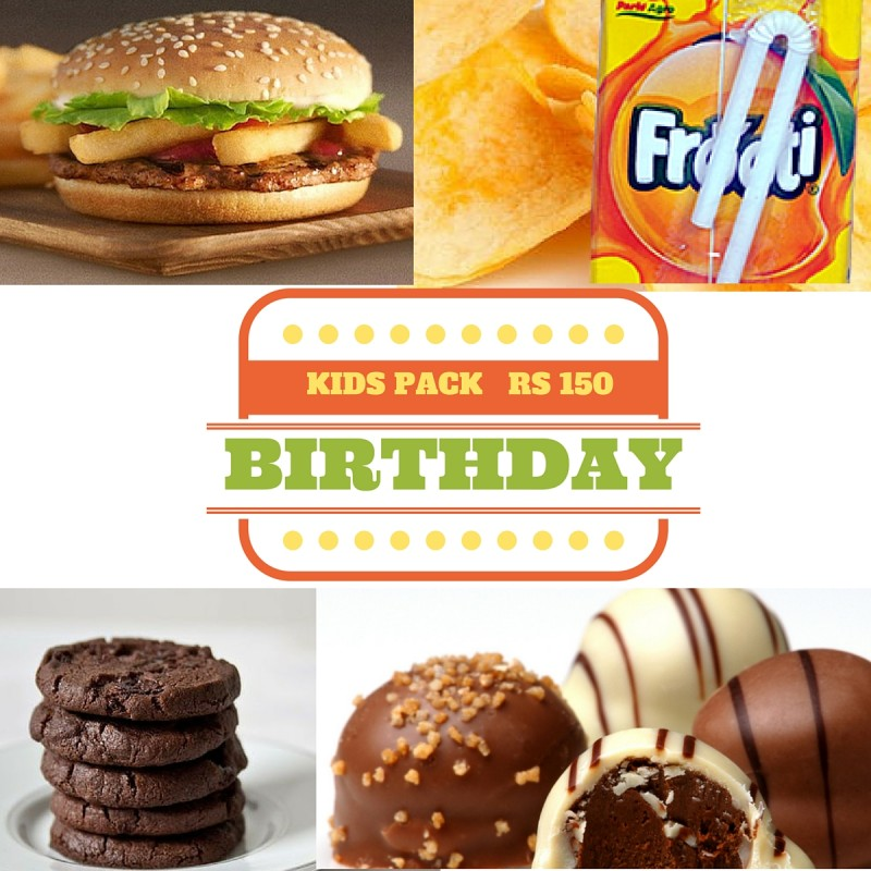 Kids Birthday Treat Pack rs 150/-